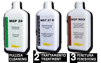 Die Perfektion auf gebürstete Oberflächen in 3 einfache Schritte mit wasserbasierten Produkten