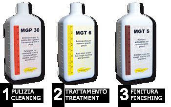 La perfección para las superficies brutas a base de solvente en 3 simples pasos…