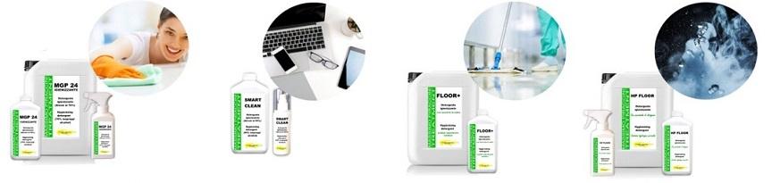 Igienizzanti e sanificanti